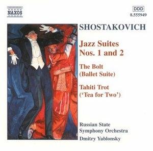 Shostakovich-Jazz Suites album cover