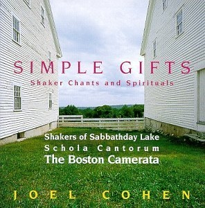Simple Gifts: Shaker Chants And Spirituals album cover