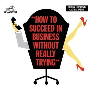 How to Succeed in Business Without Really Trying (1961 Original Broadway Cast)  album cover
