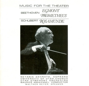 Beethoven, Schubert: Music For The Theatre album cover