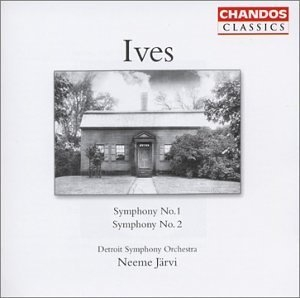 Ives: Symphonies Nos.1 & 2 album cover