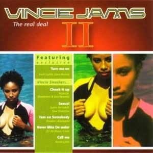 Vincie Jams II: The Real Deal album cover
