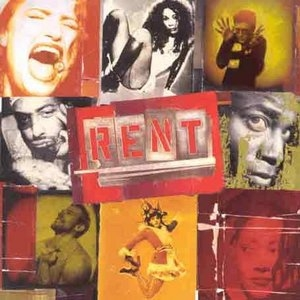 Rent (1996 Original Broadway Cast) album cover