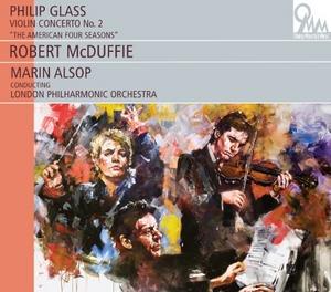 Glass: Violin Concerto No.2 album cover