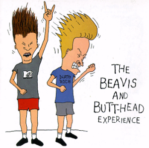 The Beavis And Butt-Head Experience album cover