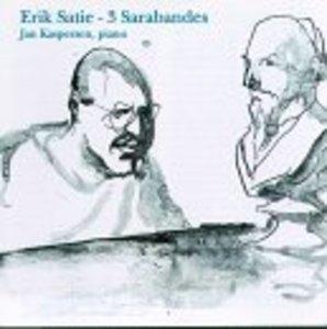 Satie: 3 Sarabandes album cover