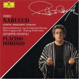 Verdi: Nabucco Highlights album cover