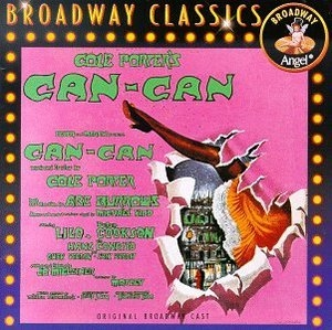 Can-Can (1953 Original Broadway Cast)  album cover
