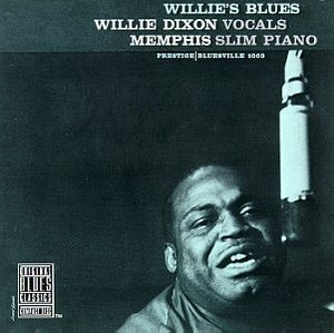Willie's Blues album cover