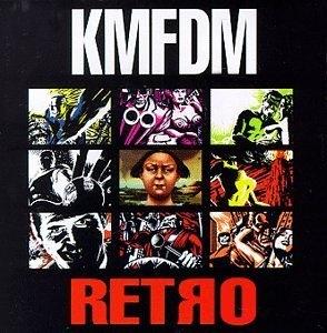 Retro album cover