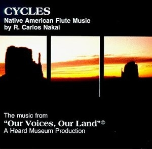 Cycles: Native American Flute Music album cover