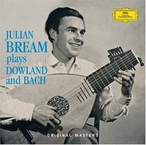 Plays Dowland & Bach album cover
