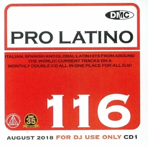 DMC Pro Latino, Vol. 116: August 2018 album cover