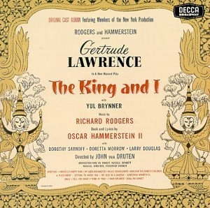 The King and I (Original 1951 Broadway Cast) album cover