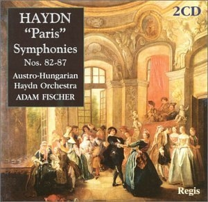 Haydn: The Paris Symphonies Nos.82-87 album cover