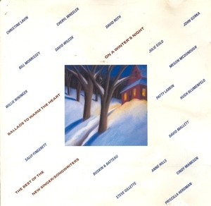 On A Winter's Night album cover