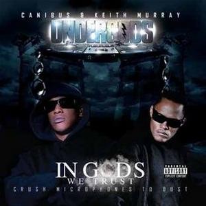 In Gods We Trust: Crush Microphones To Dust album cover