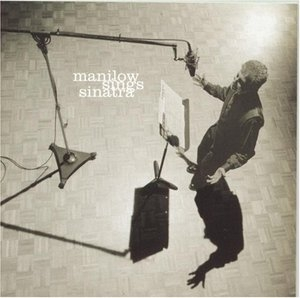 Manilow Sings Sinatra album cover