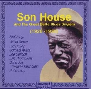 Son House And The Great Delta Blues Singers album cover