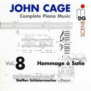 Complete Piano Music Vol.8: Hommage à Satie album cover