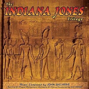 The Indiana Jones Trilogy album cover