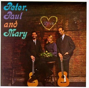 Peter, Paul & Mary  (1962) album cover