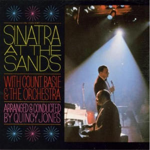 Sinatra At The Sands album cover