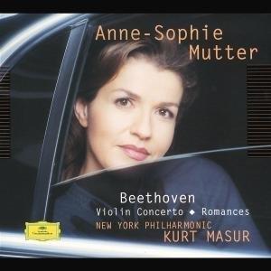 Beethoven: Violin Concerto & Romances album cover