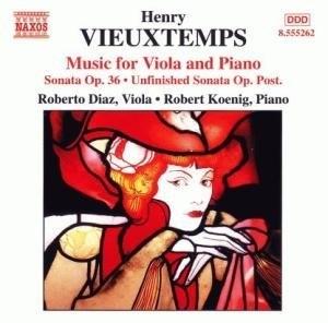 Vieuxtemps: Music For Viola & Piano album cover