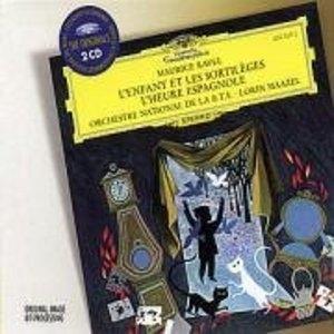 Ravel: L'enfant Et Les Sortileges~ L'Heure Espagnole album cover