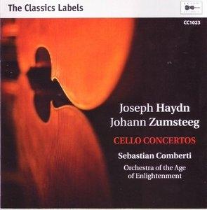 Joseph Haydn, Johann Zumsteeg: Cello Concertos album cover