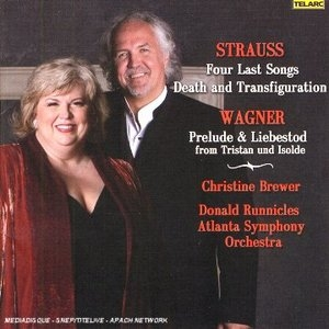 Strauss: Four Last Songs, Wagner: Prelude And Liebestod album cover