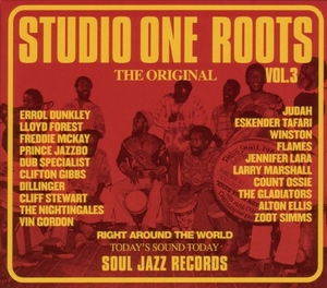 Soul Jazz Presents: Studio One Roots 3 album cover