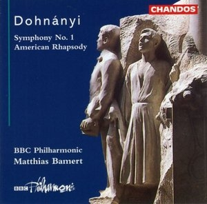 Dohnanyi: Symphony No.1, American Rhapsody album cover
