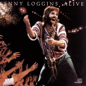 Kenny Loggins Alive album cover