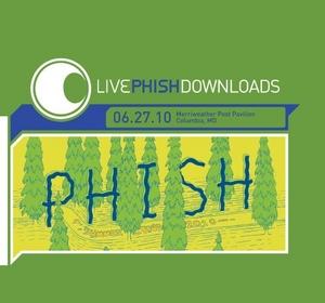 Live Phish 6-27-10 Merriweather Post Pavilion album cover