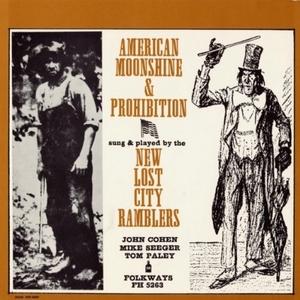American Moonshine & Prohibition album cover