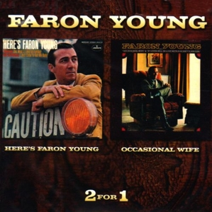 Here's Faron Young~ Occasional Wife album cover