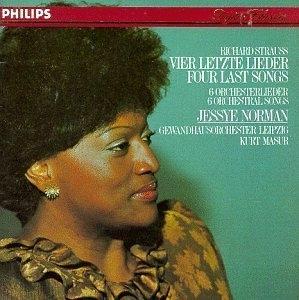 Strauss: Vier Letzte Lieder album cover