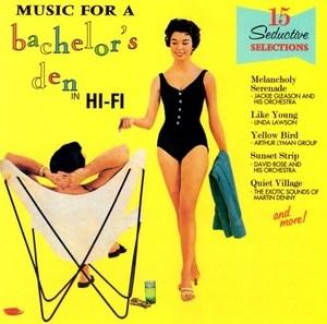 Music For A Bachelor's Den album cover