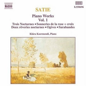 Satie: Piano Works, Vol.1 album cover