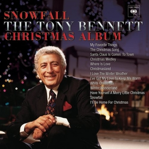 Snowfall: The Tony Bennett Christmas Album album cover