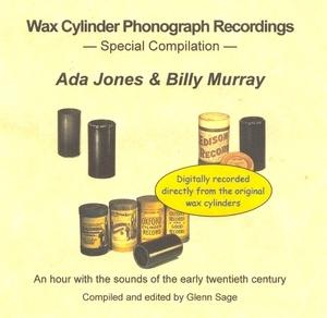 Wax Cylinder: Ada Jones & Bill Murray Compilation album cover