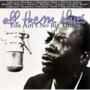 All Them Blues: You Ain't No Big Thing album cover