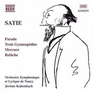 Satie: Orchestral Works album cover