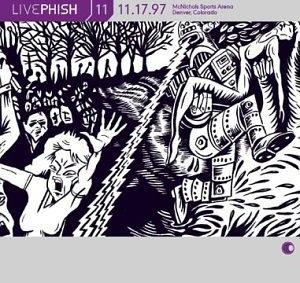 Live Phish Vol.11 album cover
