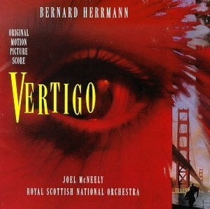 Vertigo: Original Motion Picture Score (1995 Re-Recording) album cover