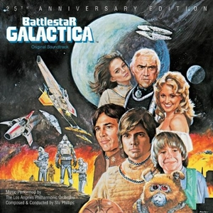 Battlestar Galactica (Original Soundtrack: 25th Anniversary Edition) album cover