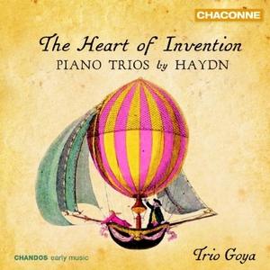 Heart Of Invention: Piano Trios By Haydn album cover