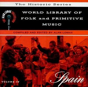 World Library Of Folk & Primitive Music, Vol. 4: Spain album cover